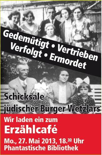 Erzählcafé R10 Kestnerschule am 27.05.2013