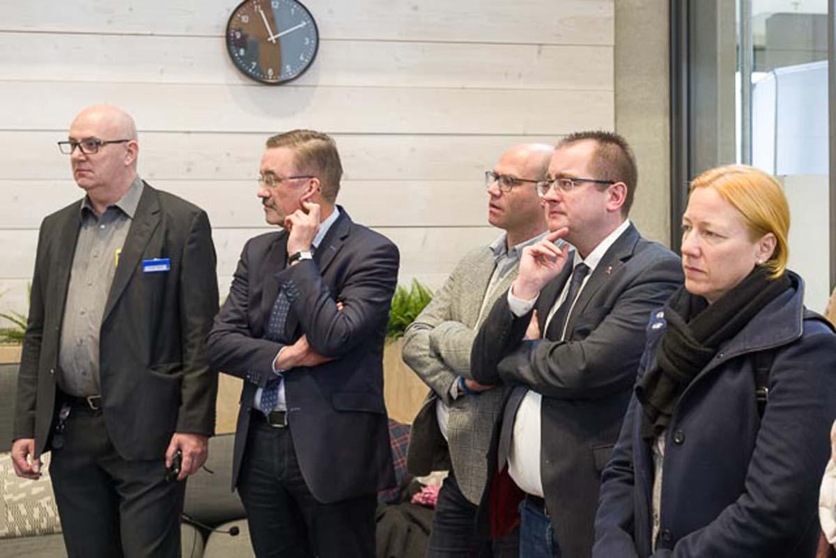 Tafelenthüllung am 06.12.2018 bei IKEA