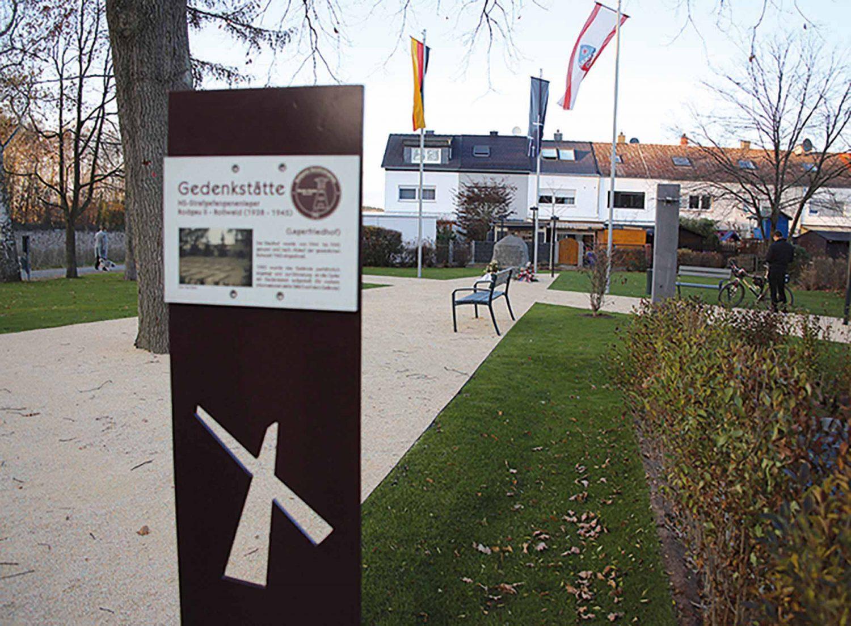 Gedenkstätte zum NS Strafgefangenenlager Rollwald
