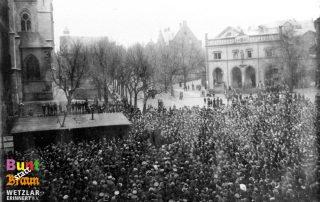 WdE-Station 08 Domplatz Novemberrevolution