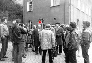 Kiryllows Besuch 1987 in Wetzlar