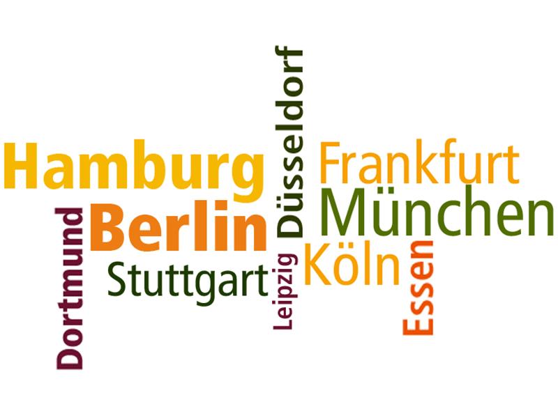 Einwohner der 12 größten Städte Deutschlands = Summe 12 Mio. Zwangsarbeiter