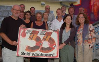 Marianne Peter (1.Reihe rechts) 2013 bei unserer Vereinsgründung