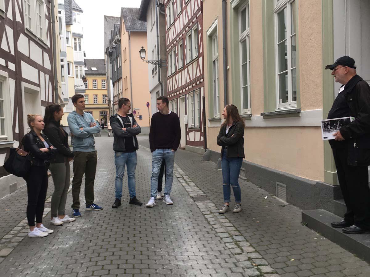WdE-Gruppenführung am 06.06.2019 für Berufsschulklasse der Th.-Heuss-Schule
