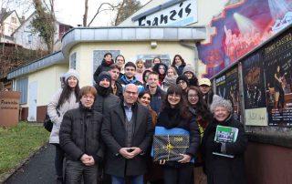 2.500ste Besucherin auf dem Weg der Erinnerung war Katarina Markovic