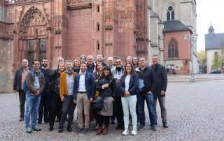 Gruppenführung für das bundesweite Treffen der Vielfalgestalter am 24.10.2019