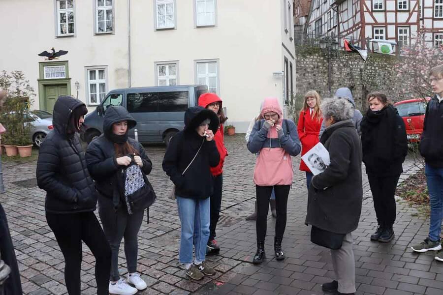 Gruppenführung am 11.02.2020 für die Klasse 11 der Goetheschule
