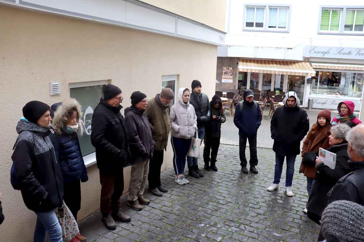 Gruppenführung für Pro-International am 05.03.2020