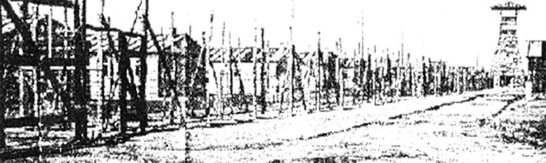 gefundene Zeichnung eines Häftlings vom Strafgefangenlager Rollwald