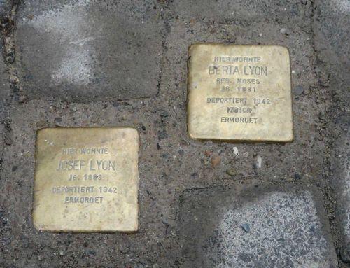 Stolperstein für Josef Lyon