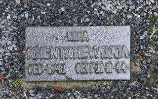 Gräberfeld für Zwangsarbeiter Friedhof Niedergirmes
