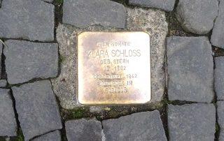 Stolperstein für Klara Schloss
