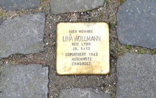 Stolperstein für Sara Wollmann