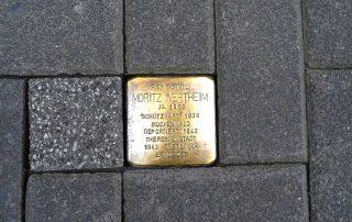Stolperstein für Moritz Wertheim