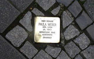 Stolperstein für Paula Weber