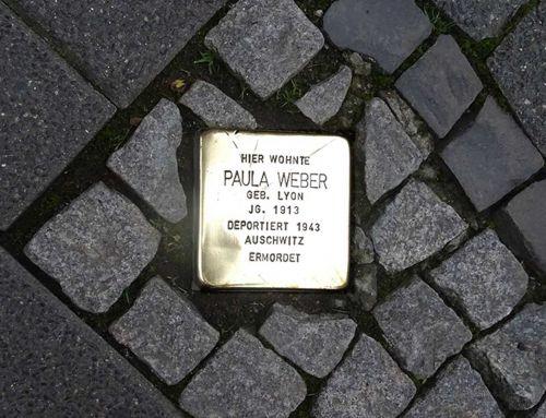 Stolperstein für Paula Sara Weber