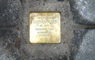 Stolperstein für Salomon Moses