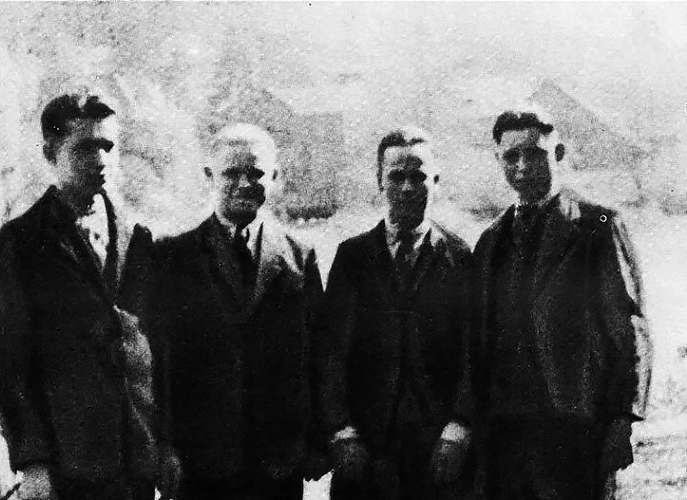 Tomasz (2.v.l.) und seine Freunde, die mit ihm nach Wetzlar kamen