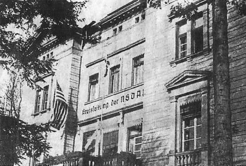 NSDAP-Kreisleitung Schriftzung