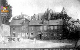 WdE-Station 12 August-Bebel-Denkmal DMV-Büro bis 1928
