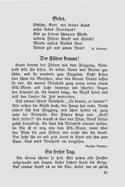 Alltag im 3. Reich Lernmaterial für Schulen: Der Führer kommt!