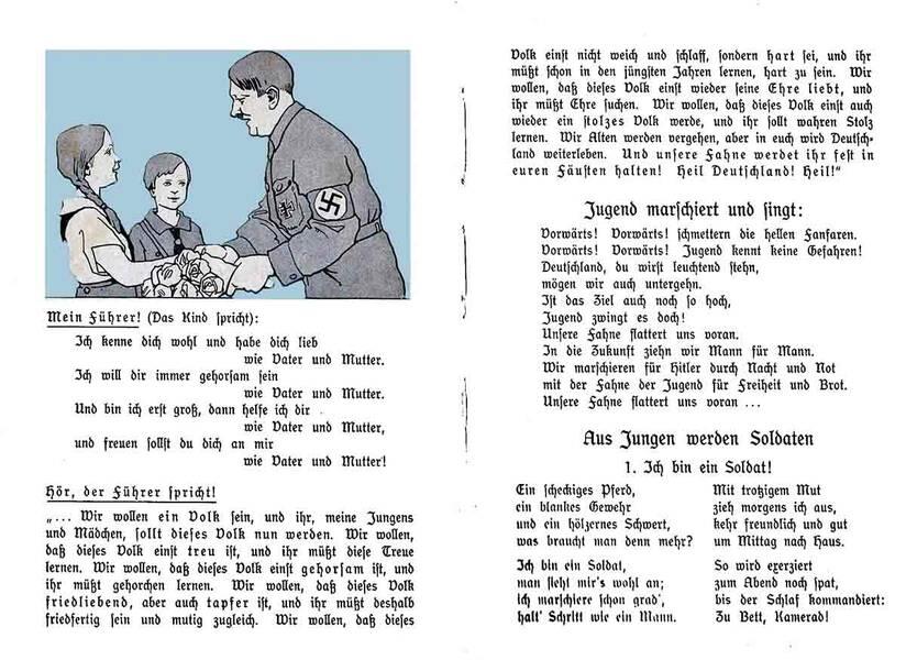 Alltag im 3. Reich Lernmaterial für Schulen: Die Deutsche Fibel