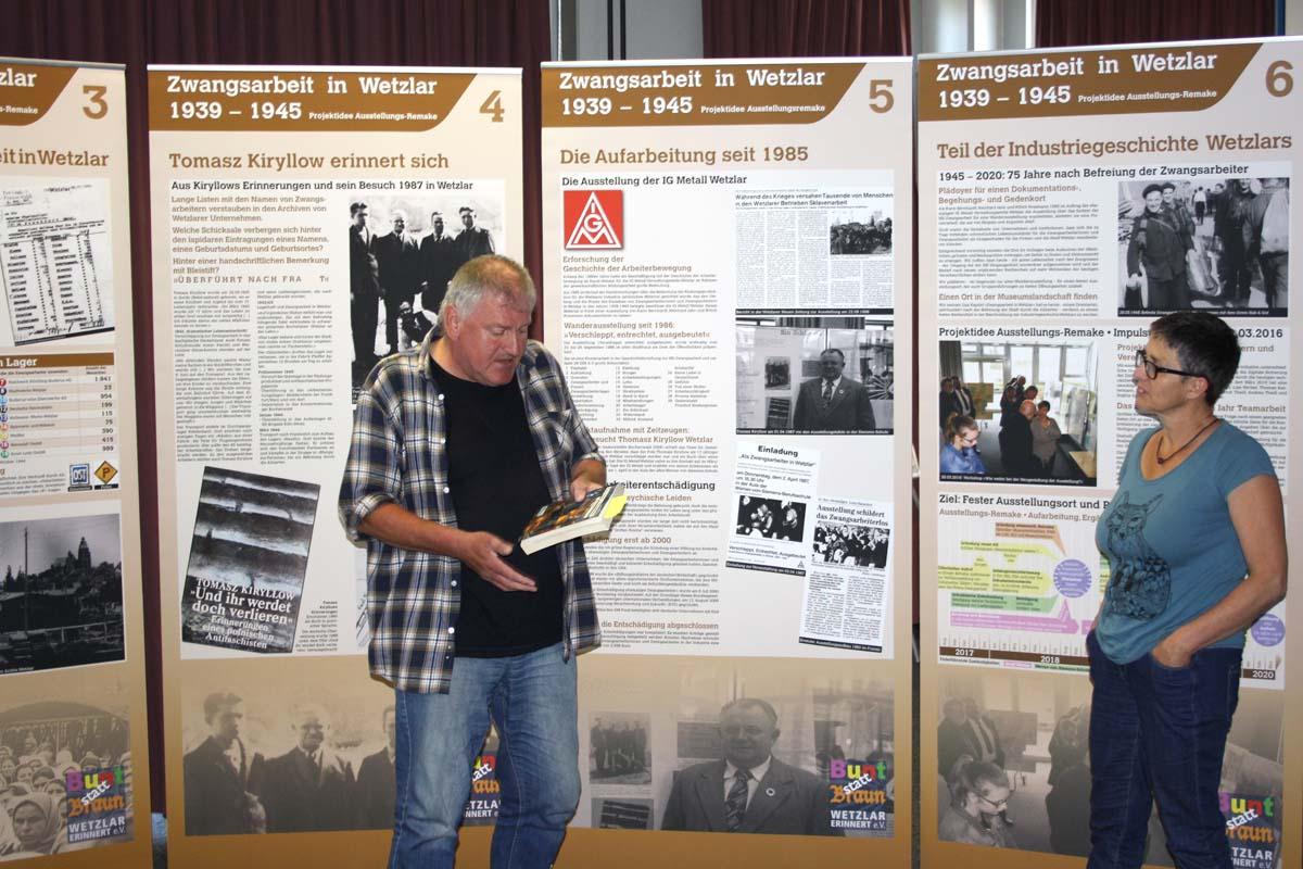 Präsentation Ausstellungsprojekt Zwangsarbeit 2017-06-12 W-v-Siemens-Sch