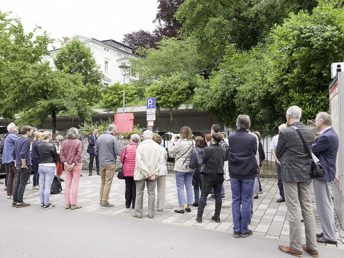 Tafelenthüllung am 11.06.2019 an der Buderus-Villa