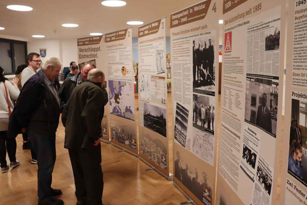 25.10.2019 SPD Hermannstein Themenabend Zwangsarbeit Veranstaltungsprofil
