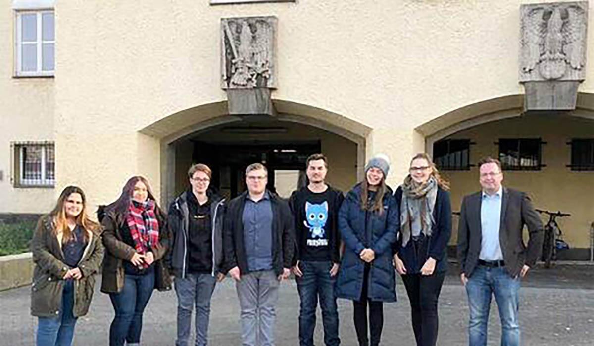 Präsentation Geschichtsprojekt Humboldt-Schule 10R1 am 09.12.2019