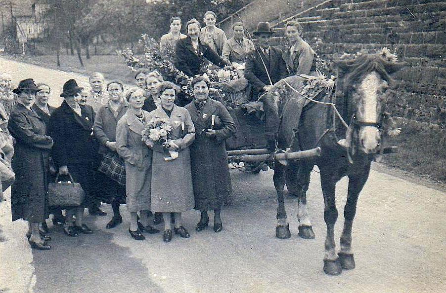 Alltag im 3. Reich: Frauenschaftsausflug in Bonbaden