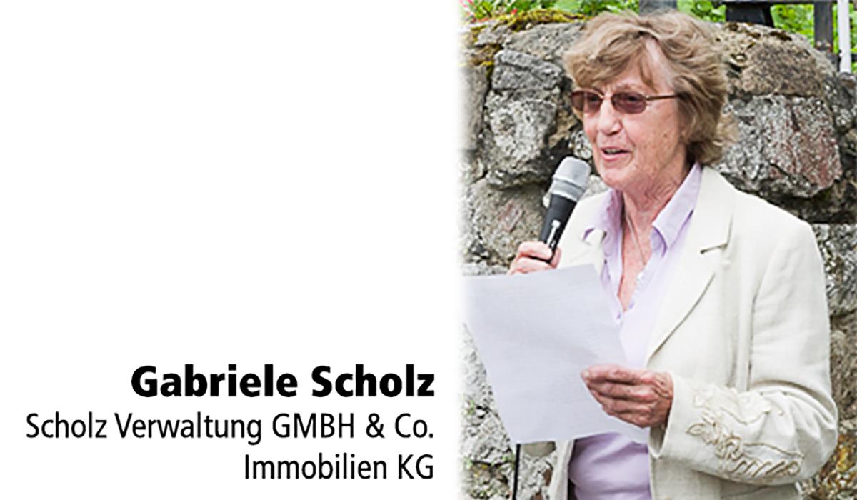Gabriele Scholz Scholz-Immobilien Tafelspender NSDAP-Kreisleitung Buderus-Villa