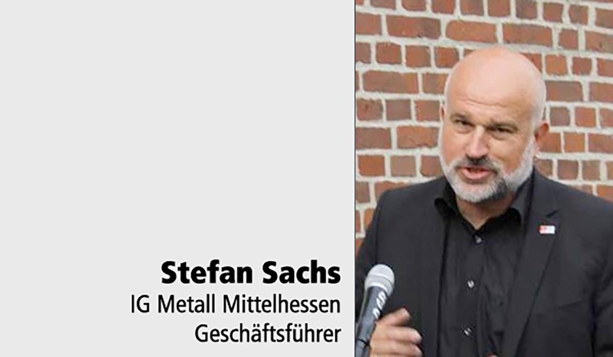 Stefan Sachs IG Metall Tafelstifter DMV-Haus