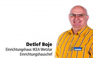 Dieter Boje IKEA Tafelstifter Erich Deibel Lager Hermannsteiner Straße Sponsor