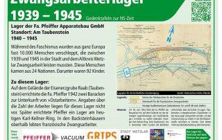 Teaser Gedenktafel Lager Taubenstein