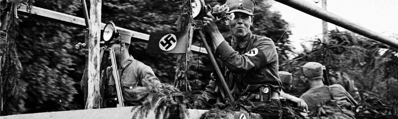 Banner WdE-Leitfragen 1 Festzug Ochenfest 1933