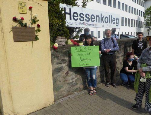 Gedenken zum 8. Mai in Wetzlar