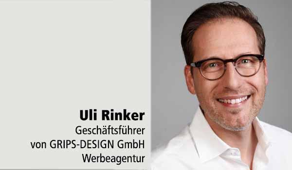 Uli Rinker Geschäftsführer Grips Design Tafelstifter Lager Taubenstein