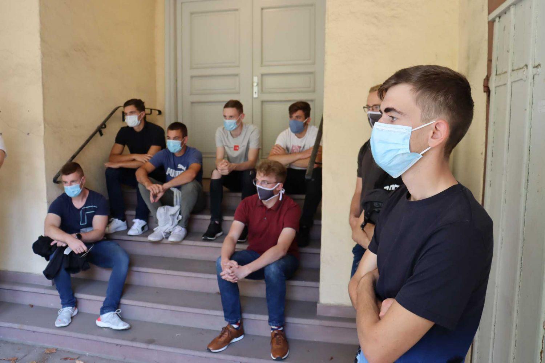 Gruppenführung WdE 22020-09-23 Pfeiffer-Vaccum Werksstudenten