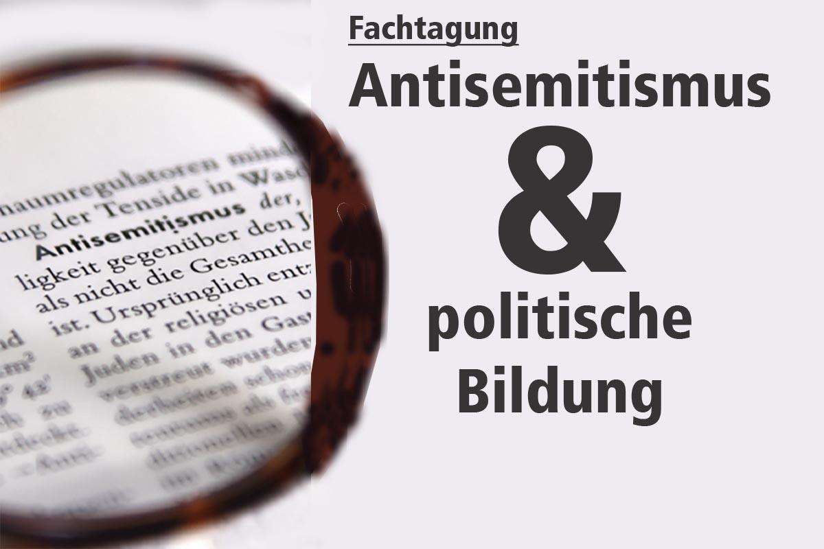 Teaserbild Fachtagung Antisemitismus und Bildungsurlaub