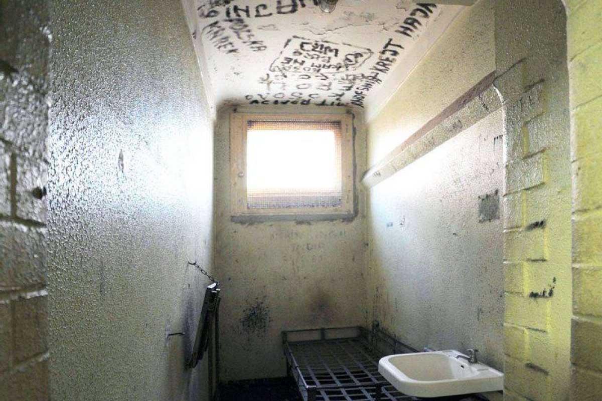 Einzelzelle Gefängnis Klapperfeldstraße