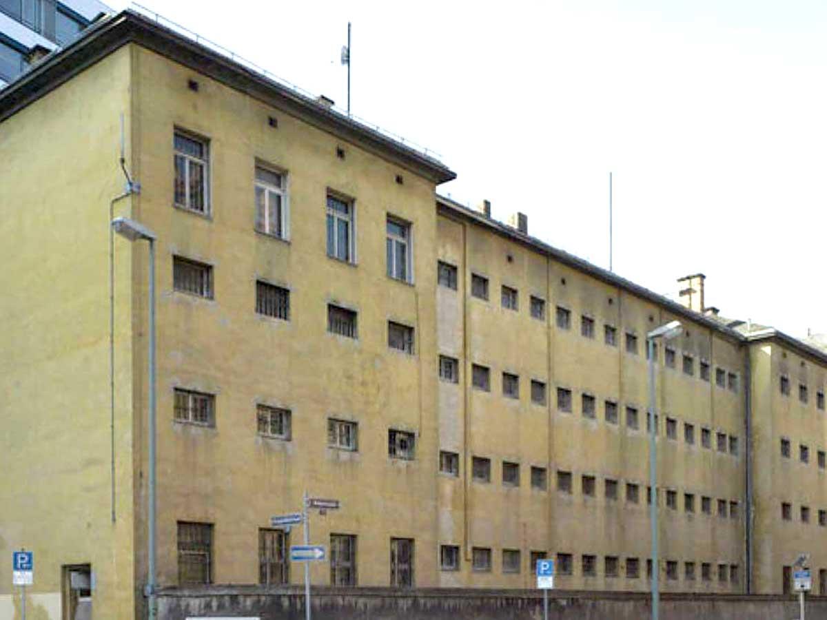 Außenansicht Polizeigefängnis Klapperfeldstraße