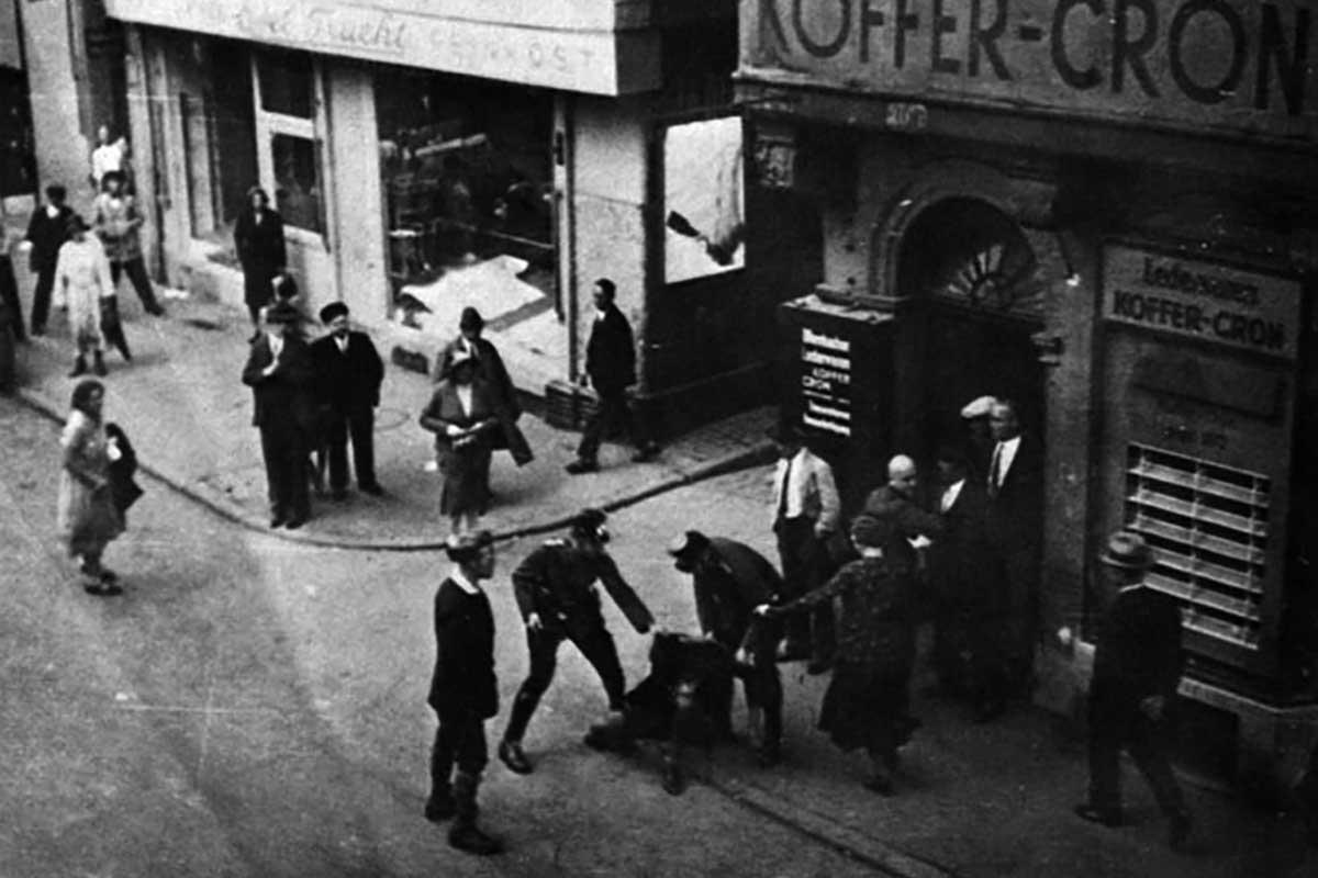 Verhaftung in Frankfurt 1933