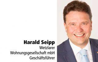 Tafelstifter Harald Seipp WWG-Geschäftsführer