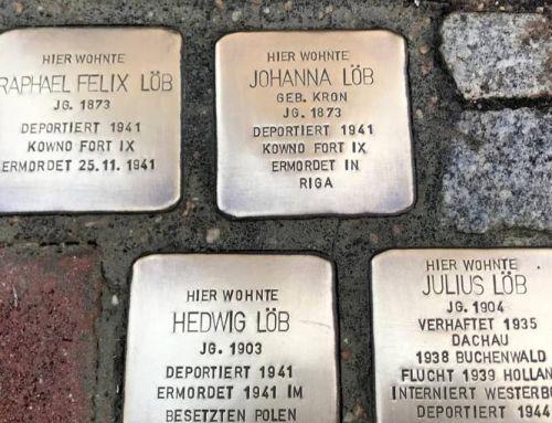 Stolpersteine in Weilburg