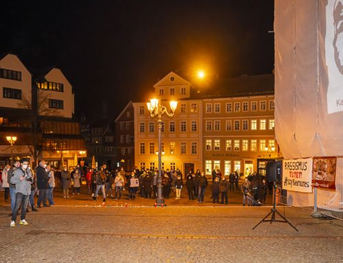 Gedenken zum Terroranschlag in Hanau