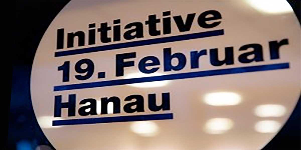 Initiative 19. November Hanau