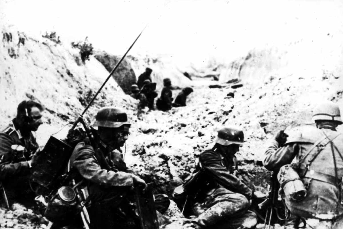 Operation Barbarossa 1941 der Angriff