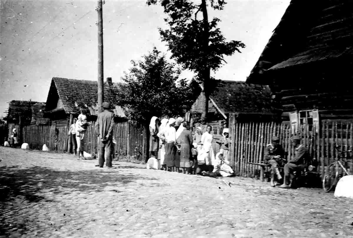 Donsbach Juni 1941 Polnisches Dorf an derpolnisch-belorussischen Grenze