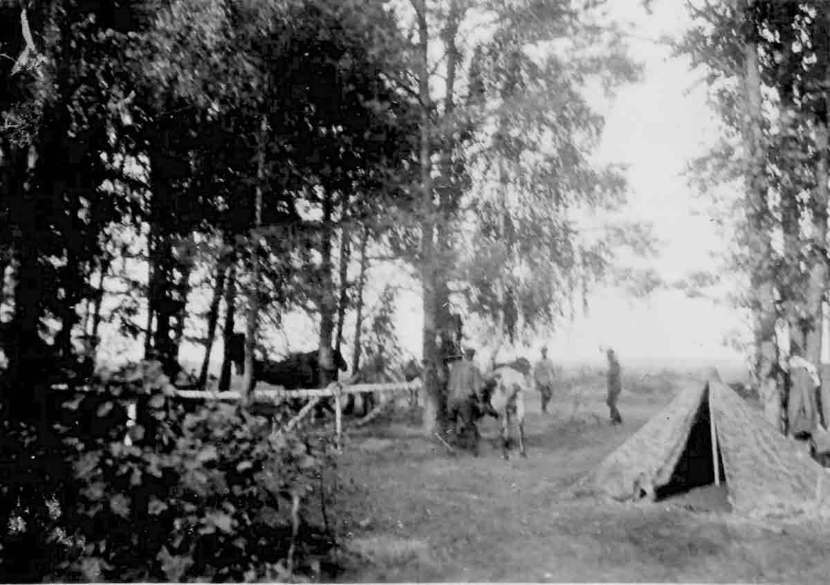 Donsbach Juli 1941 Soldatenunterkunft Malijewka